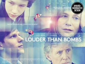 Louder than Bombs movie poster design