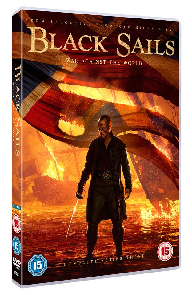 Black Sails DVD Design Key Art