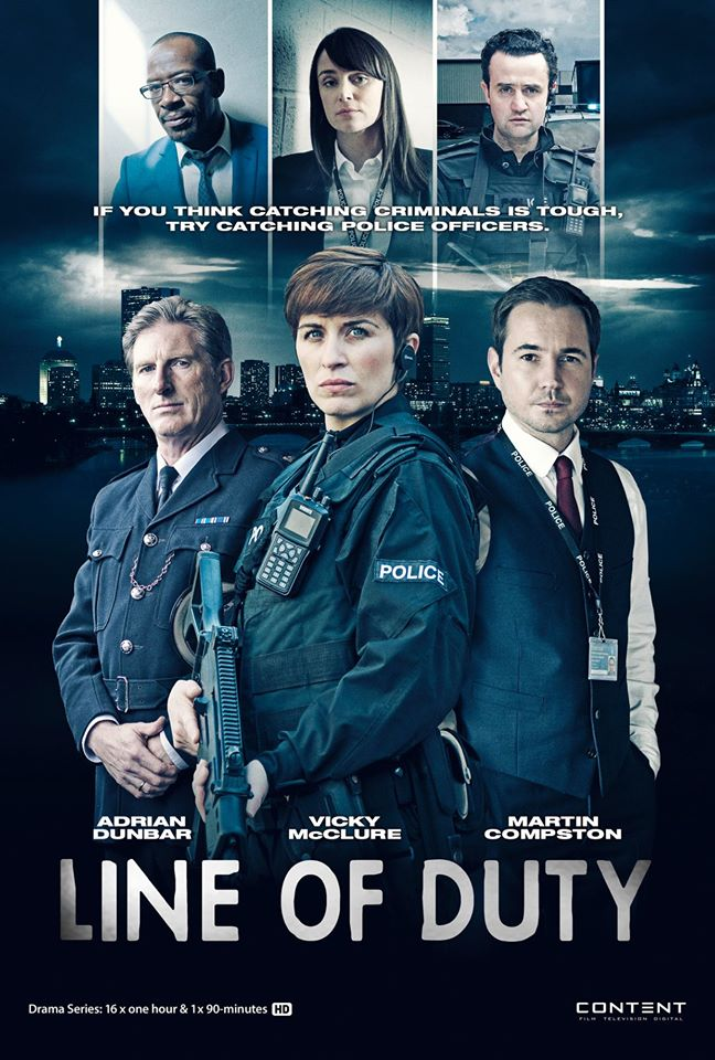 Line of Duty Poster design