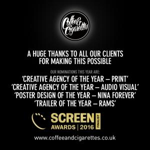 Creative Agency of the Year Print & & Audio visual