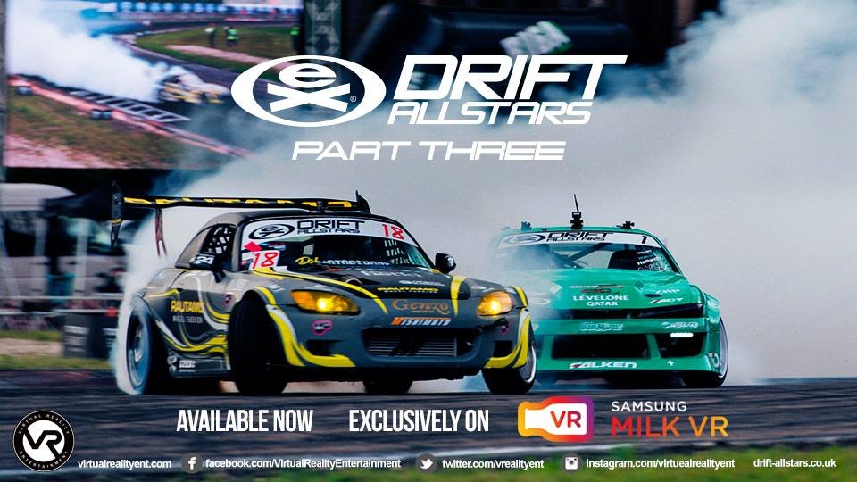 #Drift #Racing #Sportscar #Sports #VR #Film #Samsung #Oculus #Available #DriftAllstars #CoffeeandCigarettes