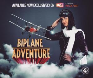 #BIPLANEADVENTURES #Plane #Flying #VR #VirtualReality #C&C #CreativeAgency #PosterDesign #Oculus #Samsung
