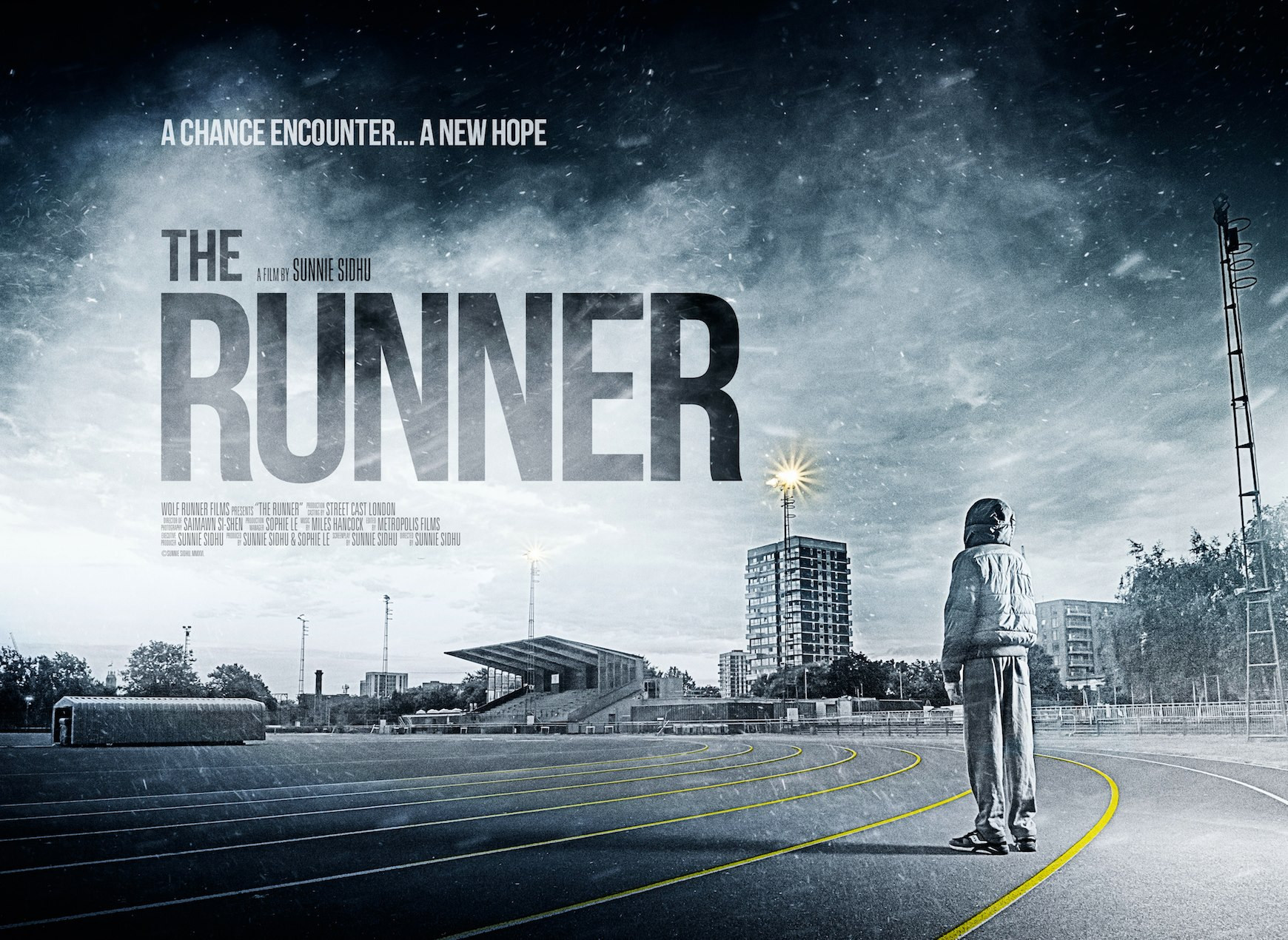 The Runner Film Poster design