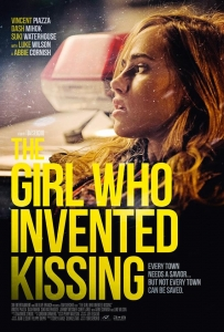 The Girl Who Invented Kissing movie poster design