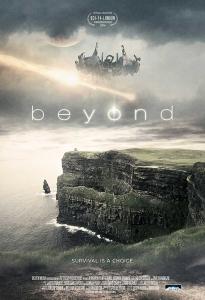 Beyond poster design by C&C Sci-fi Film Film Sale, film sales agent, film sales agent london, film sales representation