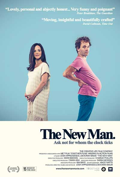 the new man film poster