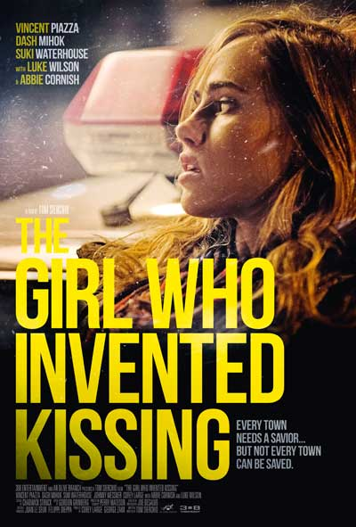 the girl who invented kissing film poster