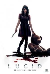 Lucid poster design by C&C horror Film Film Sale, film sales agent, film sales agent london, film sales representation