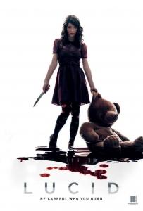 Lucid poster design by C&C horror Film Sale, film sales agent, film sales agent london, film sales representation