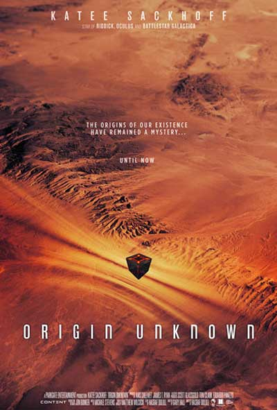 Origin unknown poster design by C&C Sci-Fi film 2017