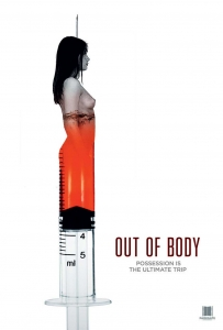 Out of body poster design by C&C horror sci-fi Film Sale, film sales agent, film sales agent london, film sales representation
