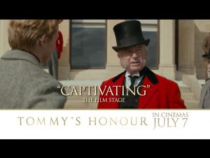 Tommy's Honour film poster design by C&C Drama film sport 2017