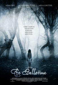 The Ballerina film poster , horror film poster, horror movie poster