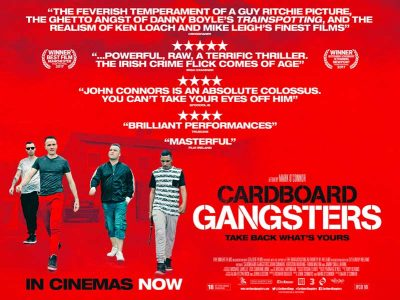 Cardboard Gangsters film poster design by C&C Crime film 2017