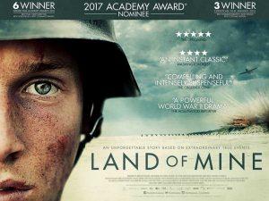 Land Of mine poster, Drama film poster , 2017 Drama film