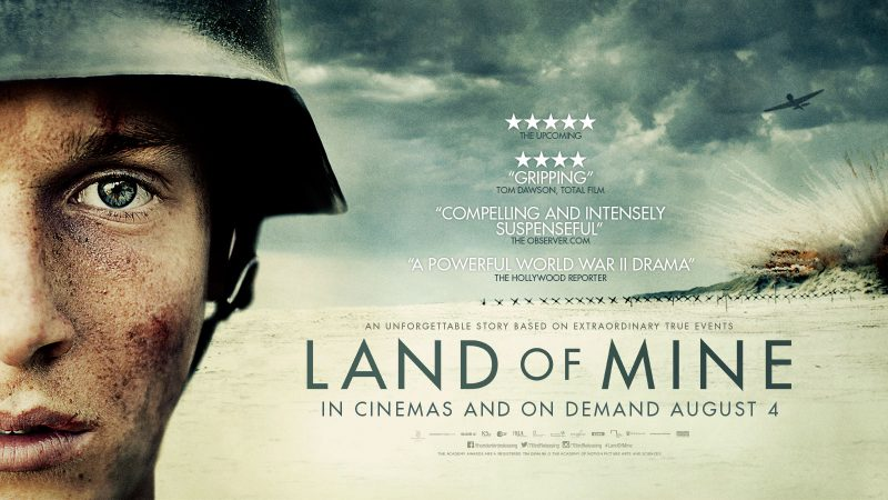 Land Of mine poster, Drama film poster , 2017 Drama film , nominated at screen awards 2017