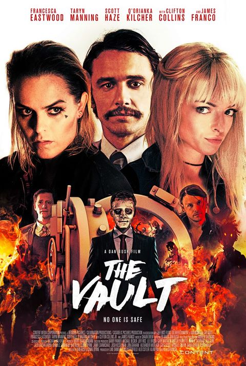 The Vault film poster - horror film poster, horror movie poster , james franco film