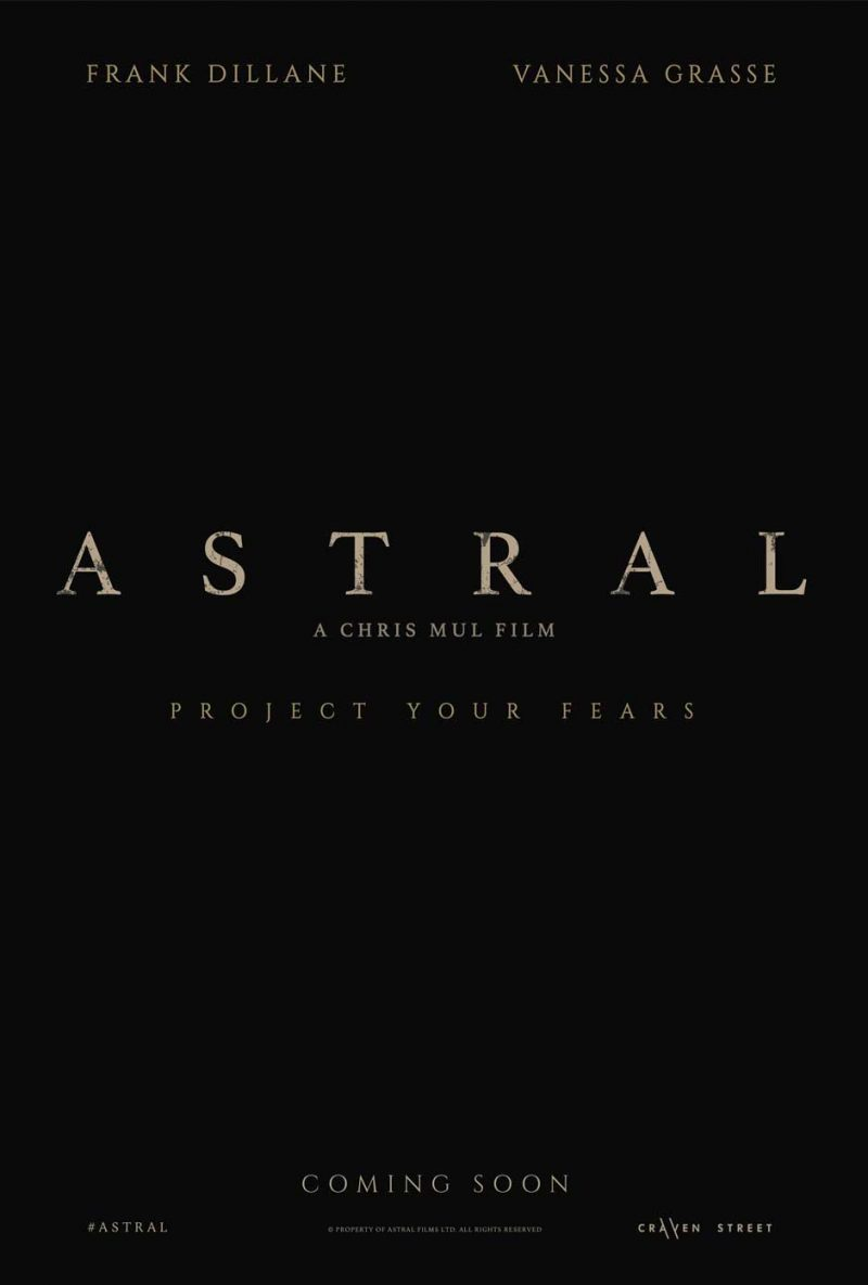 Astral, film poster, movie poster, sales representation, film sales representation, movie sales representation