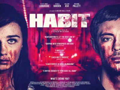 Habit, Habit poster, film poster , movie poster, horror movie poster, drama poster