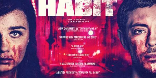 Habit, Habit poster, film poster , movie poster, horror movie poster, drama poster