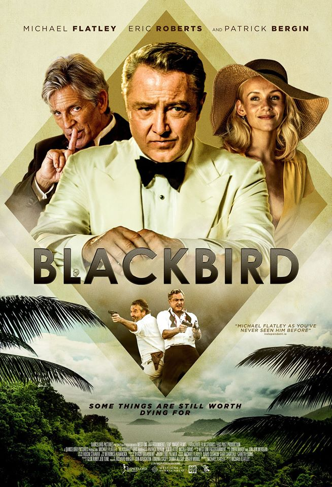 BlackBird poster, Michael Flatley film poster, Michael Flatley movie poster