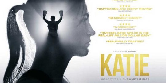 KATIE poster, feature film, poster design