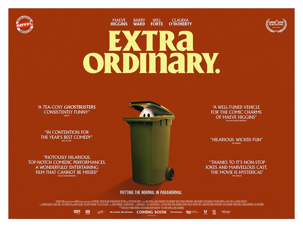 Extra Ordinary, quad poster, film poster, movie poster, design, creative agency