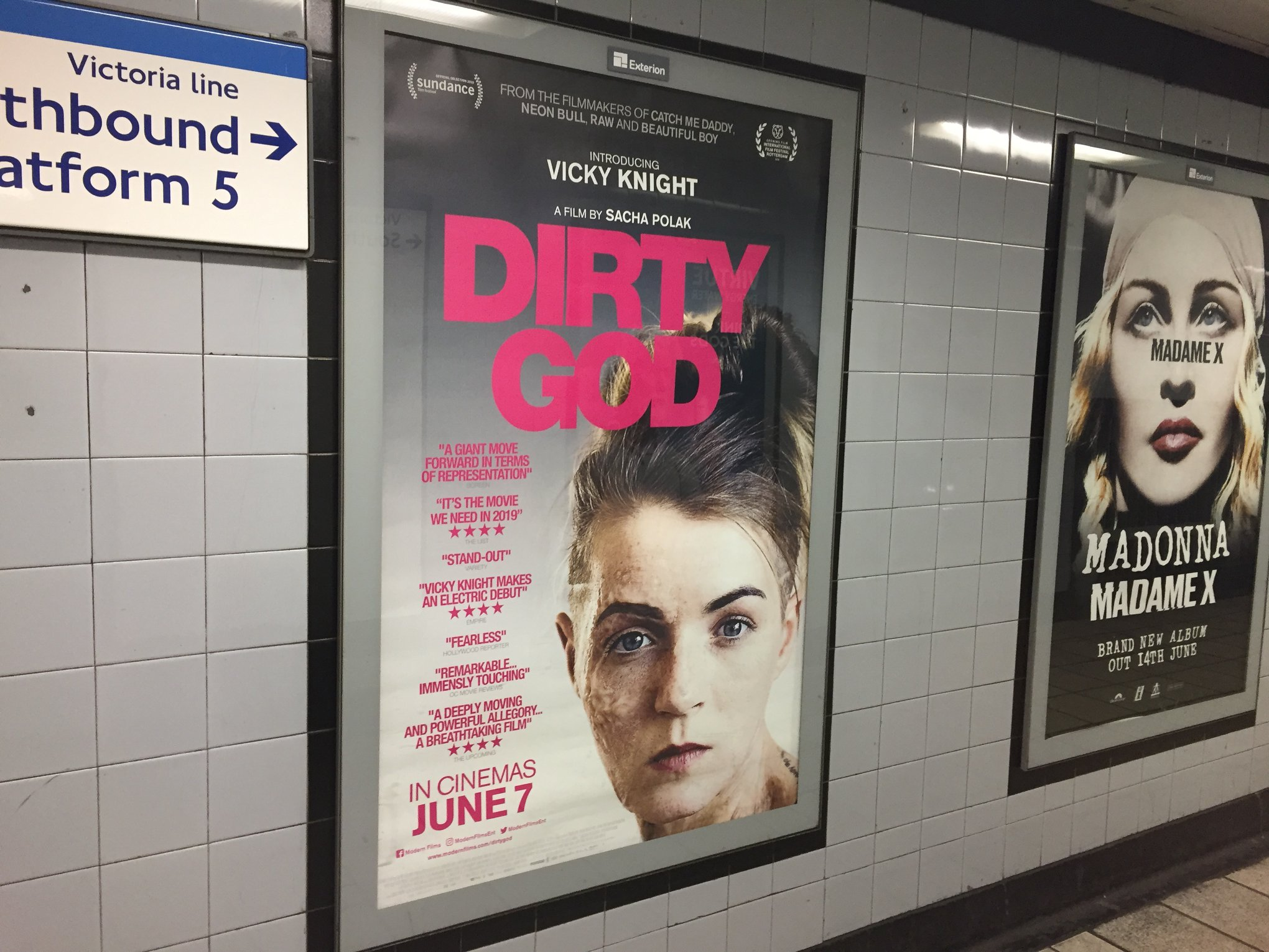 Dirty God in the Tube